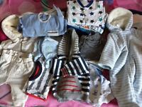 0-3months baby boys clothes