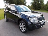 2009 59 SUZUKI GRAND VITARA 1.9 DDIS SZ5 4X4 IN METALLIC BLACK