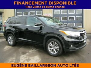 2016 Toyota Highlander AWD  GROUPE COMMODITÉ 8 PASSAGERS