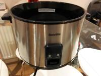 Breville rice cooker without lid