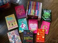 Bundle of pre teen / teenage books