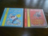 Great Birthday gift - Story CD'S - David Walliams (Gangster Granny and Billionaire Boy
