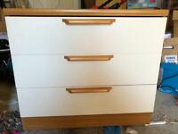 3 drawer Chester draws for sale
