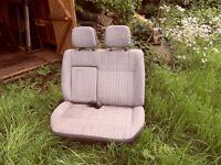 toyota hiace twin seats