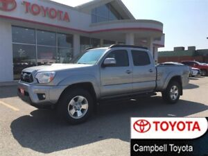 2015 Toyota Tacoma TRAIL EDITION--DOUBLE CAB--4X4--VERY LOW KM'S