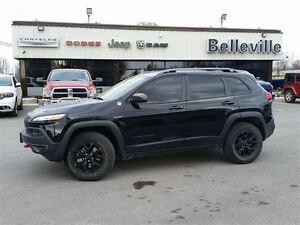 2016 Jeep Cherokee Trailhawk-Safety tec Group- Belleville Belleville Area image 3