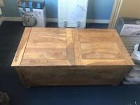 John Lewis storage chest/blanket box