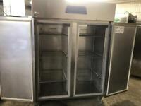 Commercial double door fridge for shop cafe restaurant takeaway pizza meat pizza ksjqhwhw