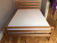DREAMS Double Bed and Mattress, Bought brand new 6 months ago, Great Condition