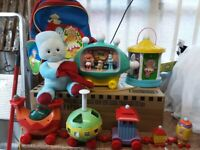 IN THE NIGHT GARDEN IGGLE PIGGLE TOY BUNDLE
