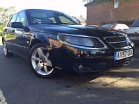 2007 Saab 9-5 1.9 Automatic Diesel TiD Linear Sport 4dr , FSH , Cream Leather , HPI Clear