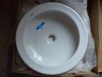 Basin for bathroom or cloakroom