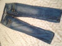 Mens stylish jeans W33 L 34