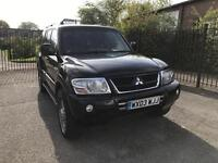 2003 MITSUBISHI SHOGUN 3.2 DI-D WARRIOR AUTOMATIC 7 SEATS POSS PX