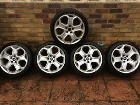 """Ford Focus Zetec S Titanium 18"""" ALLOY WHEELS with tyres(Breaking Spares) X ST Mondeo transit connect"""