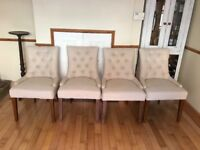 Set of 4 dining chairs (from Made)