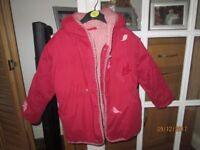 Two jackets and two dresses for 5-6 year old