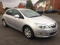 2012 VAUXHALL ASTRA EXCLUSIVE 1.6 PETROL, MOT 12 MONTHs, SERVICE HISTORY, MILEAGE 50k, HPI CLEAR,