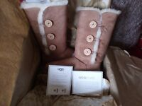 UGG AUSTRALIA BAILEY BUTTON BOOTS - BRAND NEW! NEW REDUCED PRICE!!!!