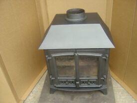 8KW Low canopy wood burner