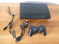 PS3 Playstation Console with Controller CECH-4003A 500GB