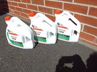 Castrol Motor oil GTX 10W-40 4 l 3 bottles + (3 l in opened bottle)