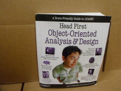 Head First Object-Oriented Analysis and Design McLaughlin