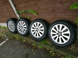 Volvo 5x108 16 alloys with tyres fits ford jaguar