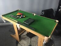 Snooker & Pool Folding Table 4ft 6inch