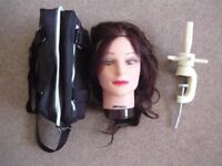 Hairdressing Head With Clamp