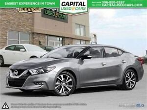 2016 Nissan Maxima *NAV*Leather* Htd Seats* Htd Steering Wheel*