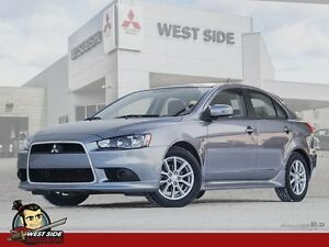 2015 Mitsubishi Lancer SportBack SE–Accident Free-One Owner-$72/