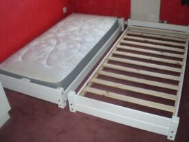 Stakka bed , 2 single beds or stacked into one .