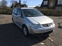 2006 VOLKSWAGEN TOURAN 1.9 TDI SE DIESEL MANUAL