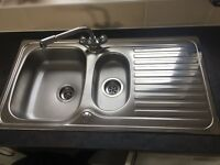 Sink/basin stainless steel kitchen