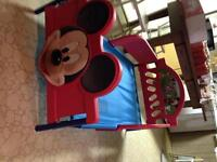 Mickey Mouse toddler bed frame