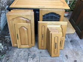 Solid Oak Kitchen Doors / Drawer Fronts - Ideal for kitchen make over