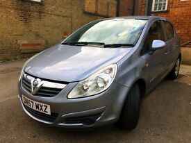 2007 VAUXHALL CORSA 1.3 CDTI 16V 4 Door LONG MOT FAMILY CAR