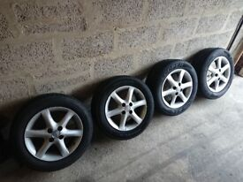 Toyota corolla 2004 Set of alloy wheels