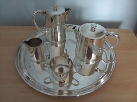 Silver Plate Tea Service EPNS