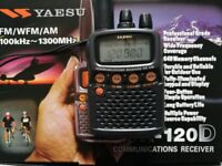 Yaesu VR-120D Communications Receiver
