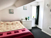 rooms to let from £65pw within friendly house share