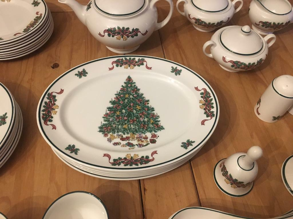 Victorian Christmas set by Johnson brothers | in Morriston, Swansea ...