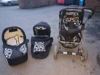 Baby pushchair 3in1