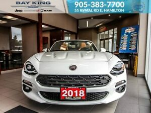 2018 Fiat 124 Spider NAV, BACKUP CAM, BLINDSPOT MONITOR, LEATHER