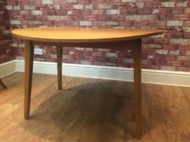 DROP LEAF TABLE AND 2 CHAIRS - CAN DELIVER