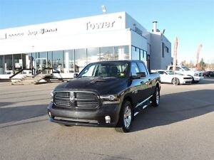2014 Ram 1500 Sport -HEATED AND VENTILATED LEATHER SEATS, HEATED