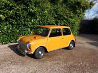 ORIGINAL CLASSIC MORRIS MINI 1000, 1970, IN BRONZE YELLOW WITH JUST 54,352mls