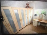 Selection Of Wardrobes Available Must Go This Week