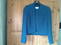 Fenn Wright Mason Teal jacket size 14, classic and timeless. Practically new.
